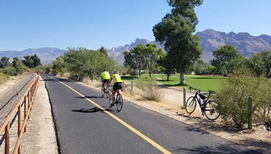 Oro Valley/Tucson Loop Bike Path